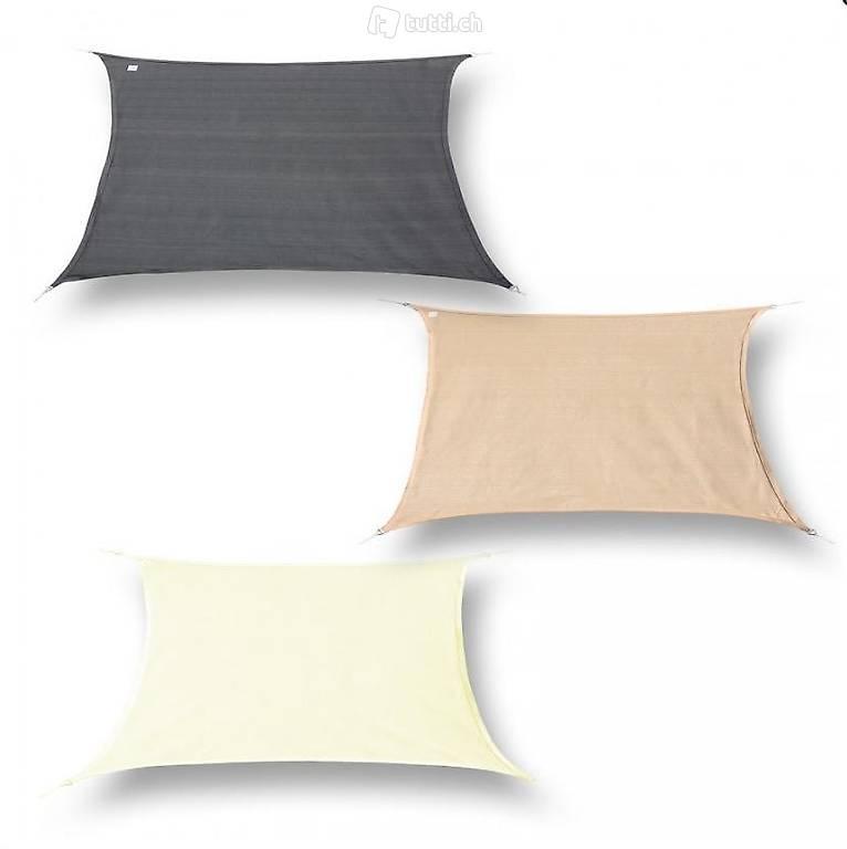 sonnensegel wasserdicht rechteck 4x6m 3 farben in aargau. Black Bedroom Furniture Sets. Home Design Ideas