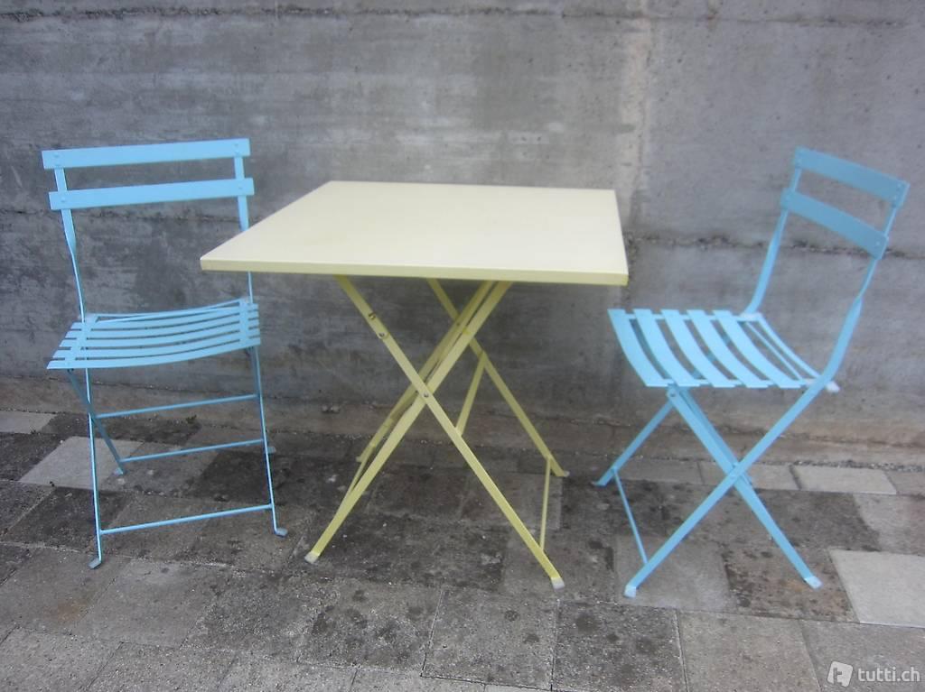 Bistro Tisch Und  Stühle   30 CHF