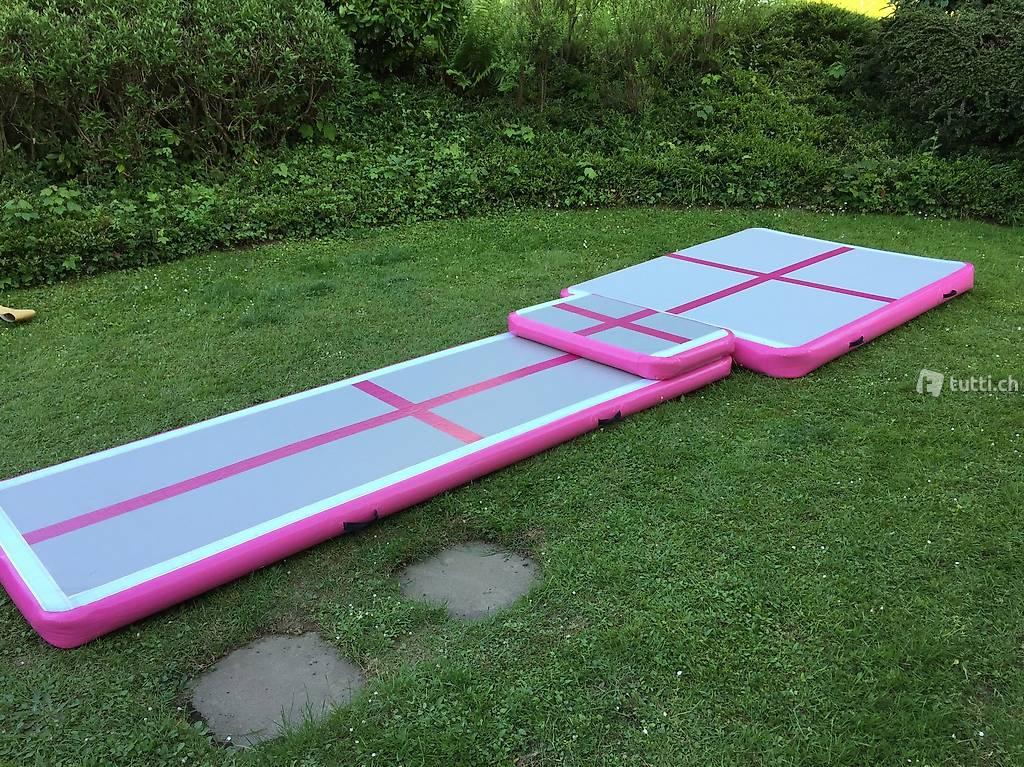 air track 2 x 1 5 x akrobatikmatte parcours in. Black Bedroom Furniture Sets. Home Design Ideas