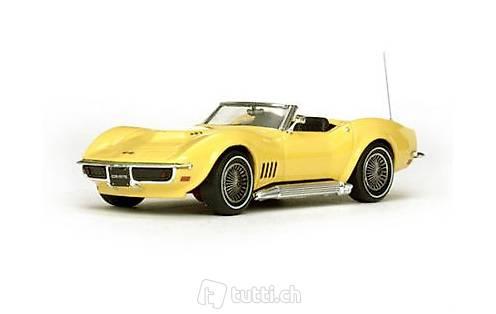 neu chevrolet corvette c3 convertible 1967 1975 gelb 1 43 in solothurn kaufen. Black Bedroom Furniture Sets. Home Design Ideas