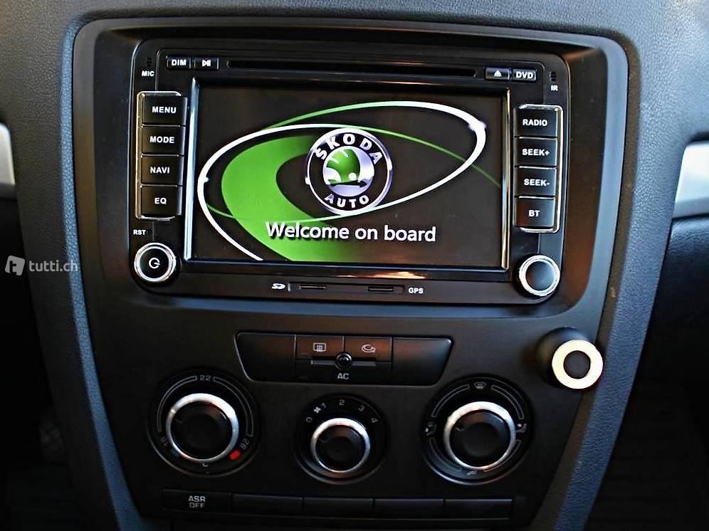 skoda navigation mit bluetooth dvd usb sd cd touchscreen. Black Bedroom Furniture Sets. Home Design Ideas