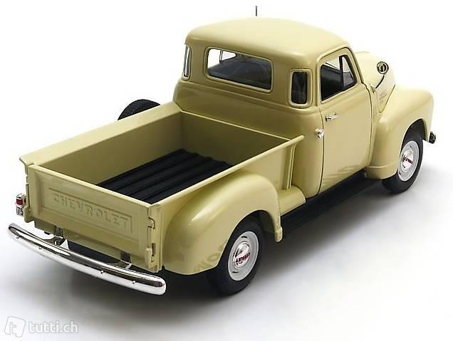 neu chevrolet 3100 pick up 1950 beige 1 18 von welly in. Black Bedroom Furniture Sets. Home Design Ideas