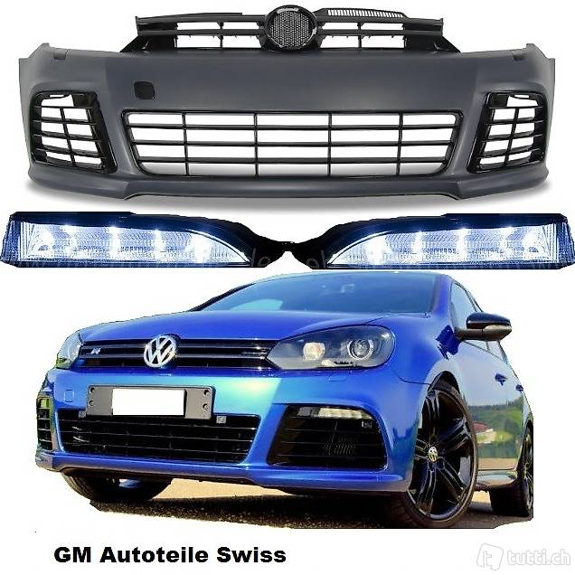 vw golf 6 r 20 bodykit led tagfahrlicht set in aargau. Black Bedroom Furniture Sets. Home Design Ideas
