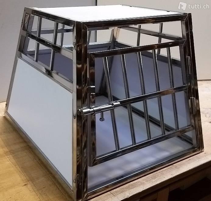 neue transportbox hundetransportbox hundebox stahl c n. Black Bedroom Furniture Sets. Home Design Ideas