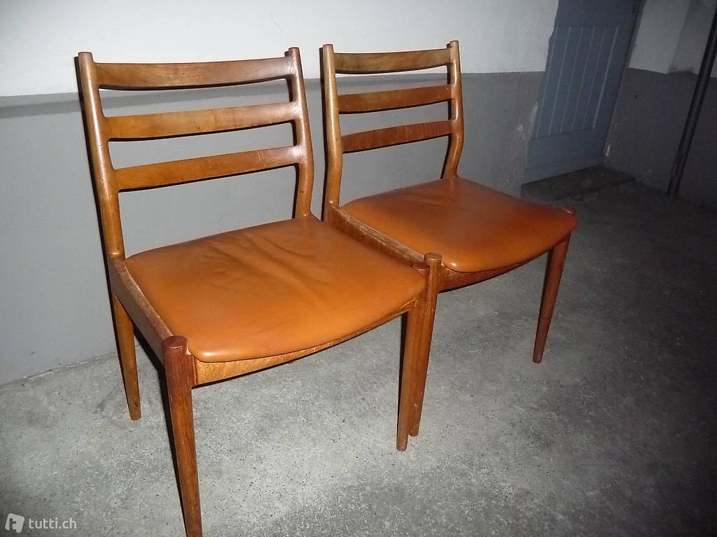 arne vodder teak st hle d nemark in aargau kaufen. Black Bedroom Furniture Sets. Home Design Ideas