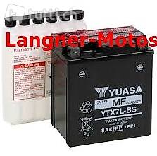 ytx7l bs yuasa motorrad batterie 12v 6ah 100en honda sh125. Black Bedroom Furniture Sets. Home Design Ideas