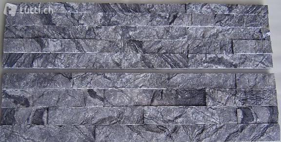 verblender paneel naturstein marmor grau spaltrauh 150 600mm in z rich kaufen q d natursteine. Black Bedroom Furniture Sets. Home Design Ideas