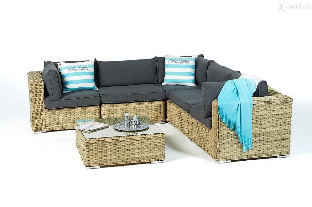 rattan ecklounge rattan lounge rattan gartenm bel in z rich kaufen viplounge. Black Bedroom Furniture Sets. Home Design Ideas