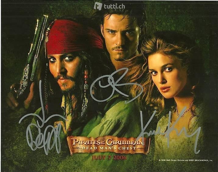 Johnny Depp Autogramme Mit Zertifikat In Basel Kaufen