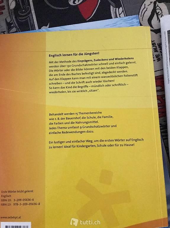 Erste Worter Leicht Gelernt Englisch In Zurich Kaufen Tutti Ch