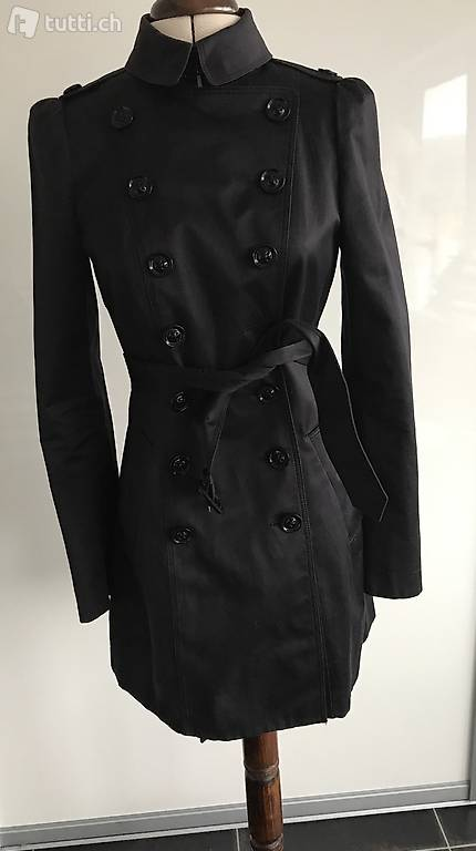 burberry trenchcoat aus baumwolle gr 34 in basel kaufen. Black Bedroom Furniture Sets. Home Design Ideas