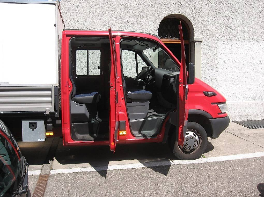 iveco daily 35c14 in basel kaufen. Black Bedroom Furniture Sets. Home Design Ideas