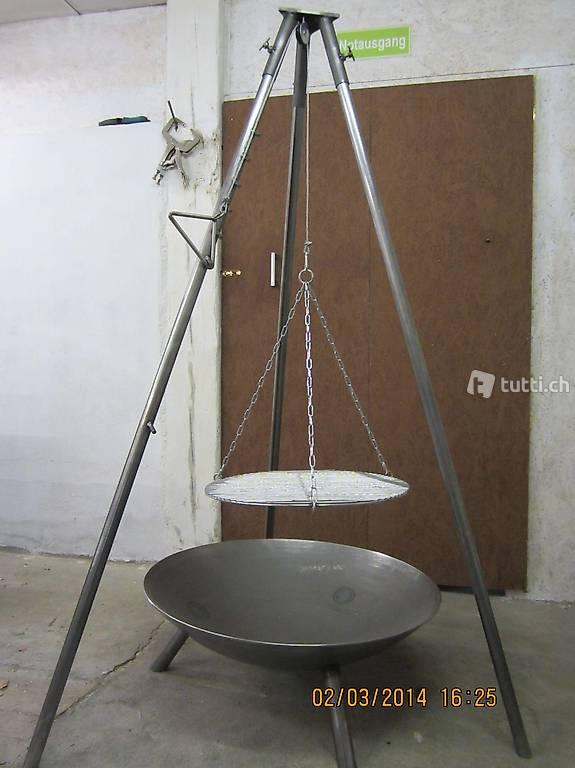 dreibein grill mit feuerschale in st gallen kaufen. Black Bedroom Furniture Sets. Home Design Ideas