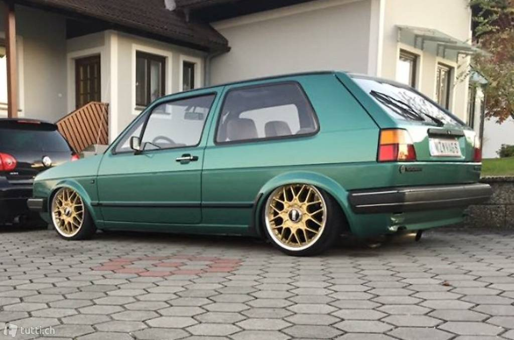 vw golf 2 gl gti 16v g60 ersatzteile bbs rs rm in bern kaufen felgentech. Black Bedroom Furniture Sets. Home Design Ideas