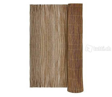 Weidenmatte Weidematte Bambusmatte Sichtschutzmatte