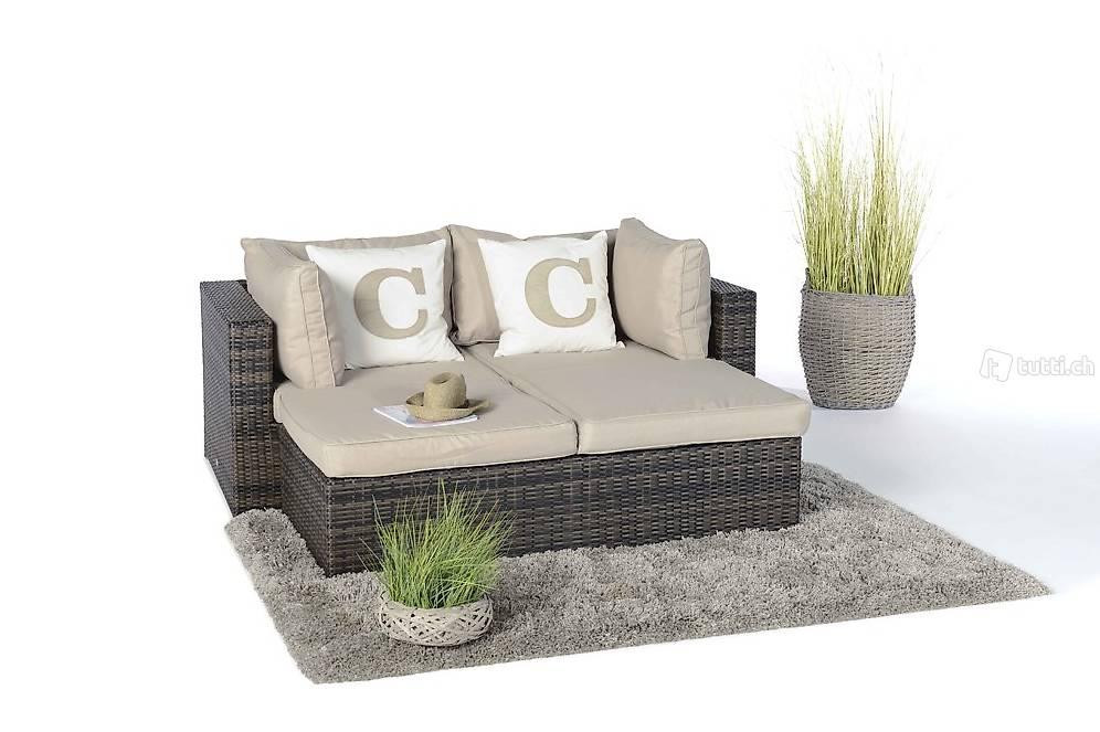 rattan lounge liege braunes geflecht rattan gartenm bel in z rich kaufen viplounge. Black Bedroom Furniture Sets. Home Design Ideas