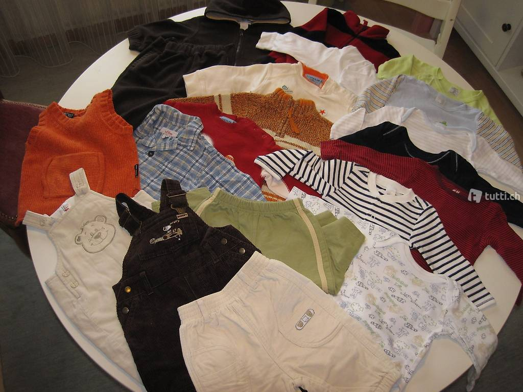 Kleiderpaket 5 Gr.62/68 in Thurgau kaufen  tutti.ch