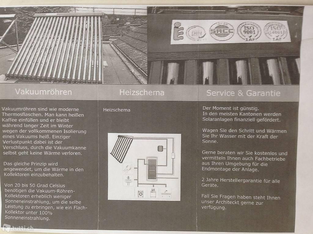solaranlage f r hauswasser und heizung in aargau kaufen. Black Bedroom Furniture Sets. Home Design Ideas