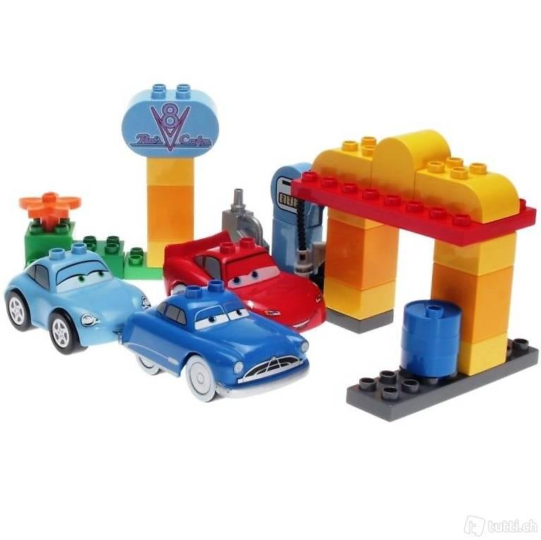 lego duplo 5815 cars flos caf in z rich kaufen decotoys. Black Bedroom Furniture Sets. Home Design Ideas