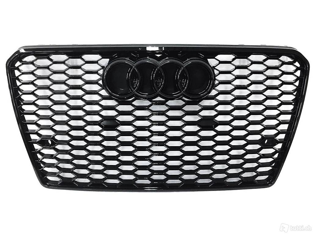 RS7 Grill Schwarz Audi A7 S7 4G 2010-2015 Wabengrill in ...