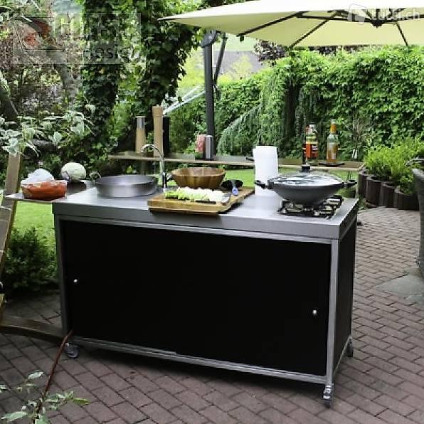 gartenk che outdoor k che kochstelle in z rich kaufen. Black Bedroom Furniture Sets. Home Design Ideas