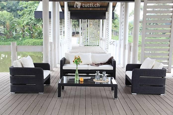 Edle Rattan Lounge - Rattan Gartenmöbel in Zurich acheter ...