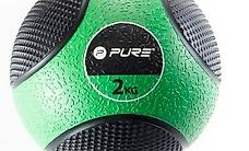 Pure2Improve Medizinball 2 kg Grün