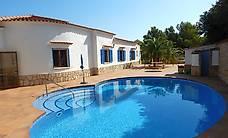 Ferienhaus mit Meersicht & Pool (Denia Costa Blanca Spanien)