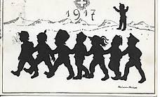 alte Postkarte - 1917