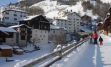 Ferienwohnung Splügen Winter, in 10 Min zu Fuss im Skigebiet