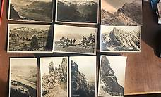 Alte Postkarten Lichtenstein Kurhaus Gaflei