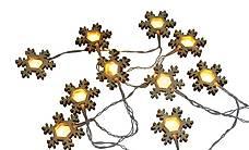 """LED Lichterkette """"Schneeflocken""""135 cm (Gratis Versand)"""