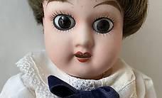 Antiker Puppen Junge  - bewegliche Gelenke -  mit Ständer
