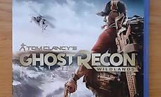PS4 Game TOM CLANCY'S GHOST RECON WILDLANDS GOLD-EDITION