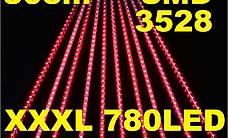 10x Guirlande Lumière Noel Lichterkette Lichtband 780 LED R.