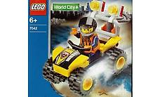 LEGO City 7042 - Sandstreife