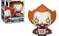 Funko POP! IT PENNYWISE with Skateboard Exclusive Figure