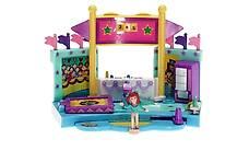 Polly Pocket Mini - 1999 - Gym Turnfest - Vault Mattel Toys