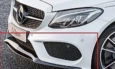 AMG Frontsplitter Spoiler Lippe schwarz C-Klasse W205 Origin