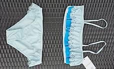 Hübscher Mädchen Bikini hellblau Gr 152/158 NEU!