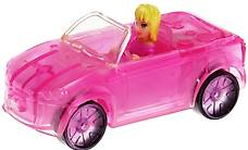 Polly Pocket Mini - 2007 - Polly Wheels Light Up 8 Red