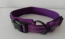 Hundehalsband Violett reflektierend S Gratis Versand