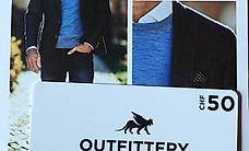 Outfittery 50.-sfr Geschenkkarte