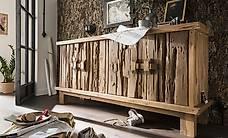 Sideboard FLINTSTONE aus altem recyceltem Teakholz massiv