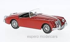 NEU: Jaguar XK 150 Roadster 1957-1961 RHD rot  1:43