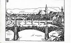 alte Postkarte - Basel