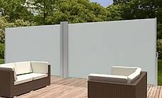 Doppel Seitenmarkise 160 x 600 cm