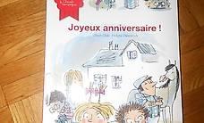 livre joyeux anniversaire