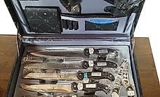 Mallette de couteaux neufs, 24 pièces