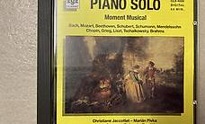 "CD Piano Solo ""Moment Musical"" mit Bach, Mozart, Beethoven.."